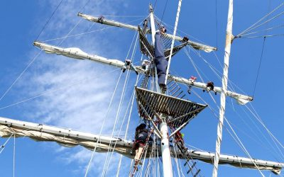 JCU student sails into Cairns aboard Young Endeavour