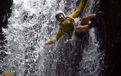Canyoning in Cairns with Raging Thunder Adventures
