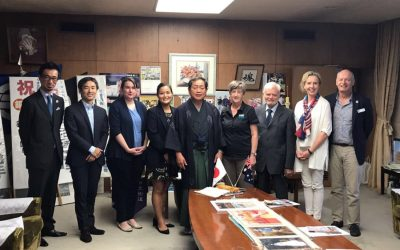 Study Cairns members on Japan Trade Mission to entice students to Cairns