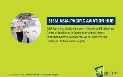 CQUniversity to develop Aviation Hub in Cairns