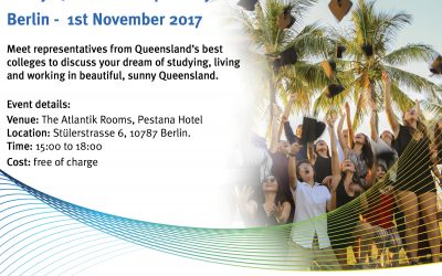 Study QLD open day at ICEF Berlin