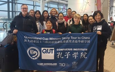 Cairns students win trips to China in 2019 Queensland Cup